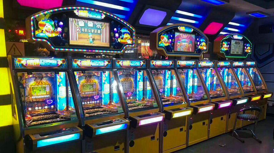 汤姆熊欢乐世界室内主题乐园二手成人游戏机案例