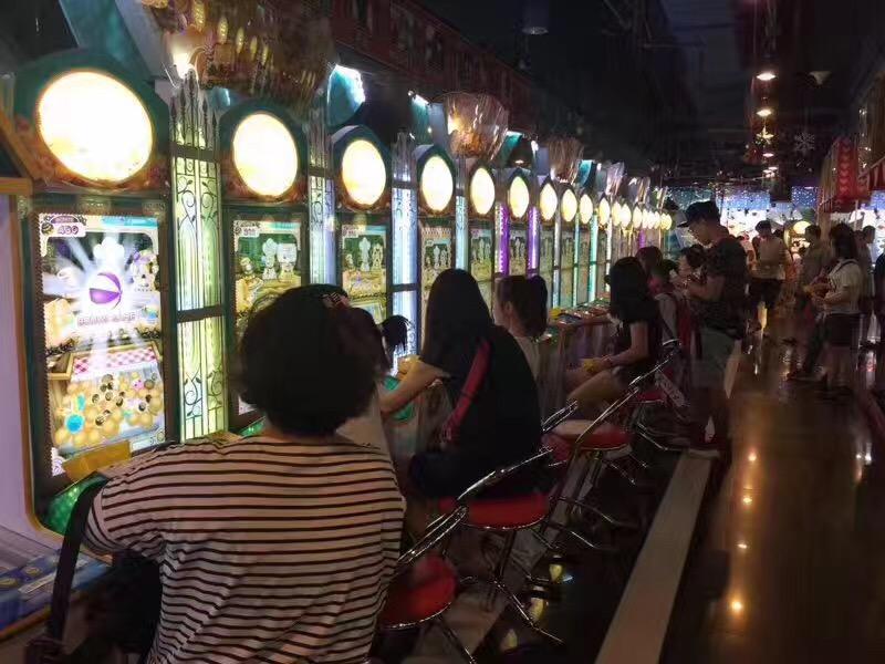 青岛游戏厅喜讯,京辉二手原装游戏机进场后业绩提升40%