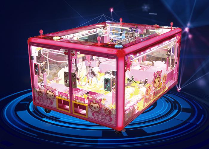 红粉格格四人娃娃机