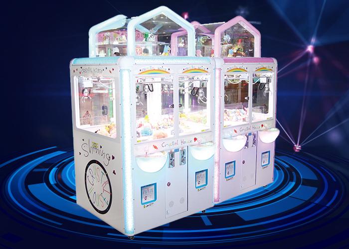 水晶屋娃娃机